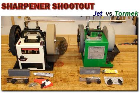 used tormek jet vs tormek sharpener shootout