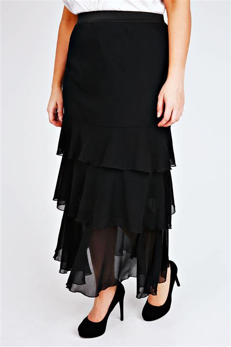 jo black maxi rara skirt