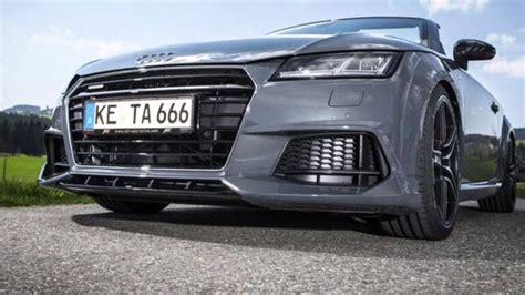 Audi Tt 8s Test by 2015 Audi Tt 8s Tuning By Abt