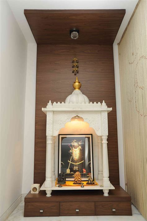 decorating a pooja ghar is one of the most crucial