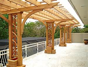 trellis designs for decks pergola plans the faster easier way to woodworking