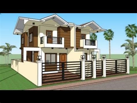 duplex house india modern house plans and design model