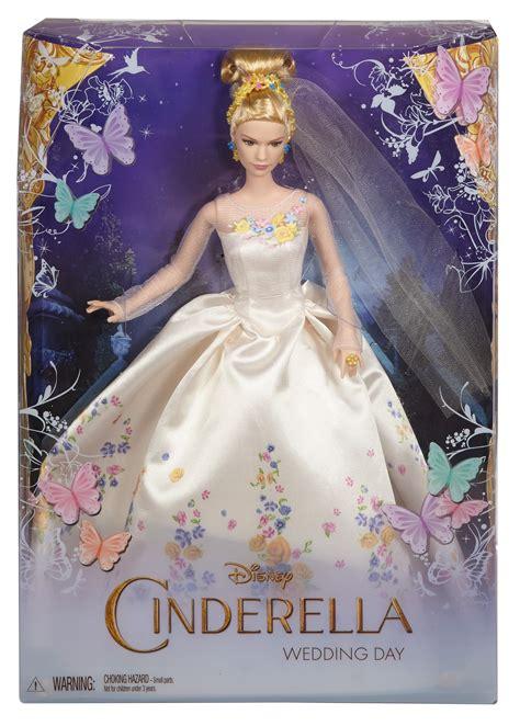 film cinderella bagus ga amazon com disney wedding day cinderella doll toys games