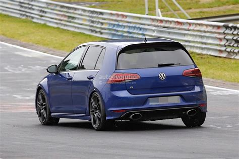 Golf R Auto It by Spyshots Volkswagen Golf R Mule With Audi Rs3 Exhaust