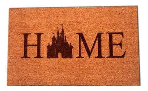 Disney Hotel Door Mat - nothing says welcome home like a disney castle home