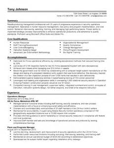 professional security operations manager templates to