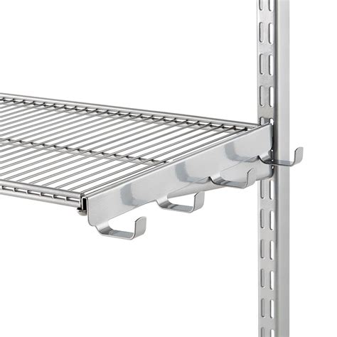 Elfa Shelf Brackets by Platinum Elfa Ventilated Wire Shelf Bracket Hooks The