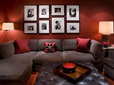 grey sofa with red cushions grey couch red pillows home design ideas