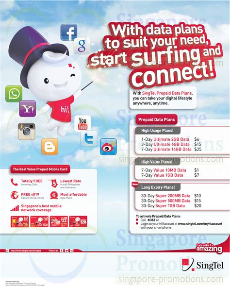 singtel prepaid data plans ultimate value