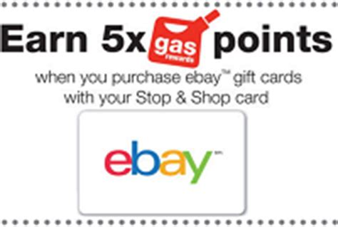 stop shop gift cards bonus 5x gas points - Stop And Shop Gift Cards Gas Points