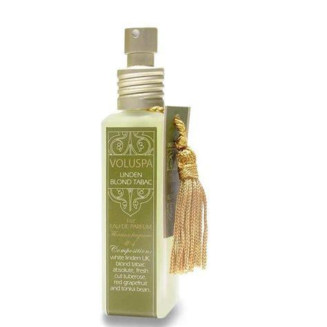 Parfum Tabac Voluspa Perfume Floraison Eau De Parfum Silk Bag Linden Blond Tabac