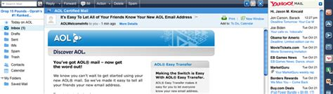 bt yahoo mail layout change aol adds yahoo mail to your inbox techcrunch