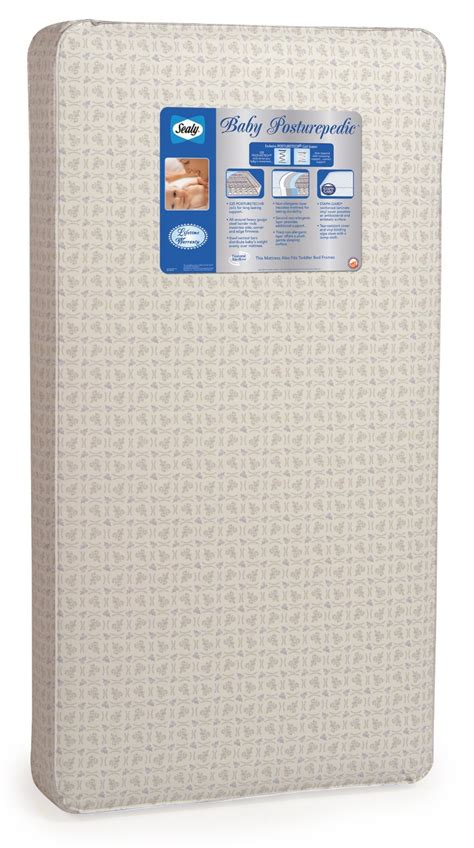 Sealy Baby Soft Premium Crib Mattress Sy 0005 Sealy Baby 220 Posturepedic Crib Mattress 絲漣220彈簧兒童床褥 Chopchop Baby