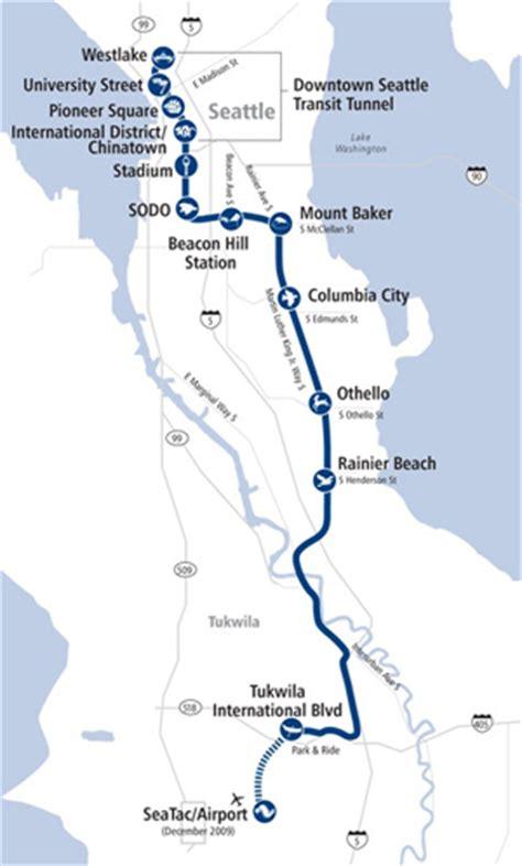 Light Link Rail Map light rail opens at airport