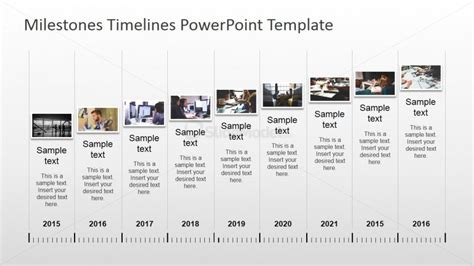 Home Bar Design Plans by Powerpoint Timeline With Pictures Slidemodel