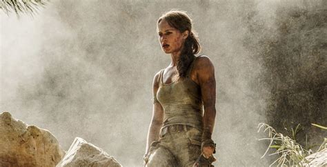 Director Of Ex Machina by First Look At Alicia Vikander As The New Lara Croft In