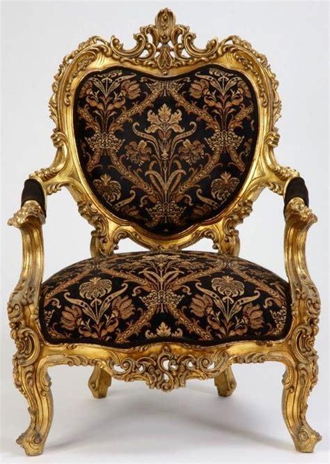 century itqlian rococo arm chair armchair
