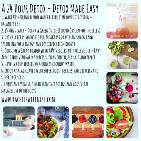 14 Day Detox Plan Juice Plus by 25 Best Ideas About 24 Hour Detox On Best