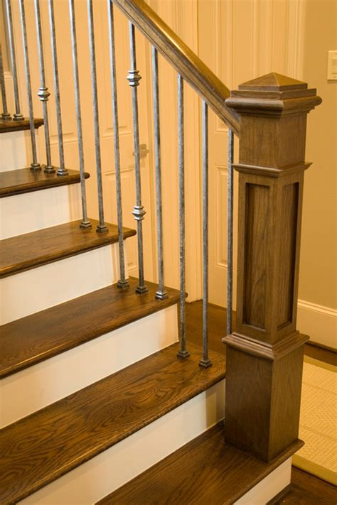 Painting Banisters The New Craftsman Style Staircase