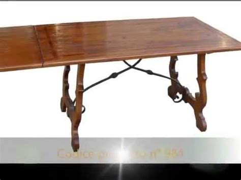 tavoli fratini allungabili tavolo tavoli fratini artigianali allungabili con ferri