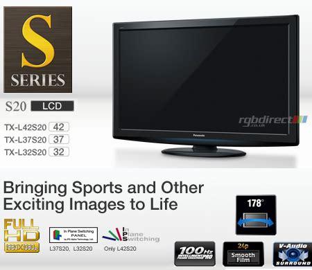 Tv Panasonic Oktober panasonic txl37s20ba 37 s20 series hd 1080p ips lcd tv with freeview hd viera image