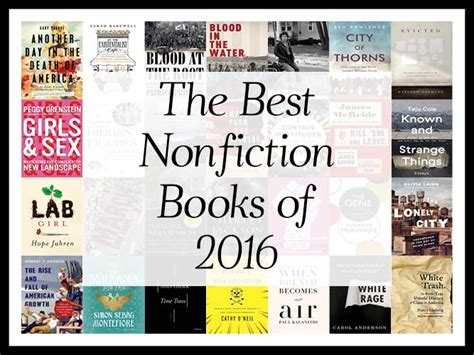 best nonfiction picture books the best nonfiction books of 2016 a year end list