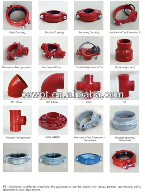 Plumbing Fittings Pdf by Ductile Iron Grooved Pipe Fitting And Coupling U Bolt