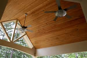 pine tongue groove porch ceiling home is where my