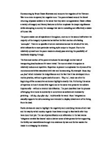 Bruce Dawe Essay by Bruce Dawe Poetry Essay