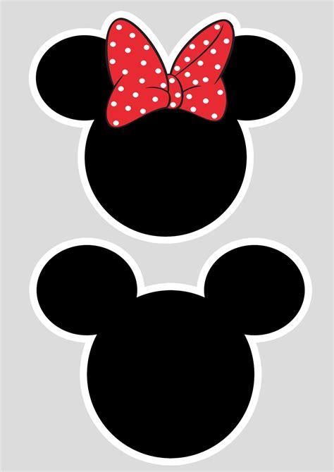 Mickey Minie toppers cabeca minnie e mickey fazendo a nossa festa