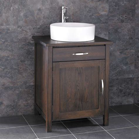 freestanding bathroom basin 60cm x 50cm ohio freestanding solid oak bathroom vanity