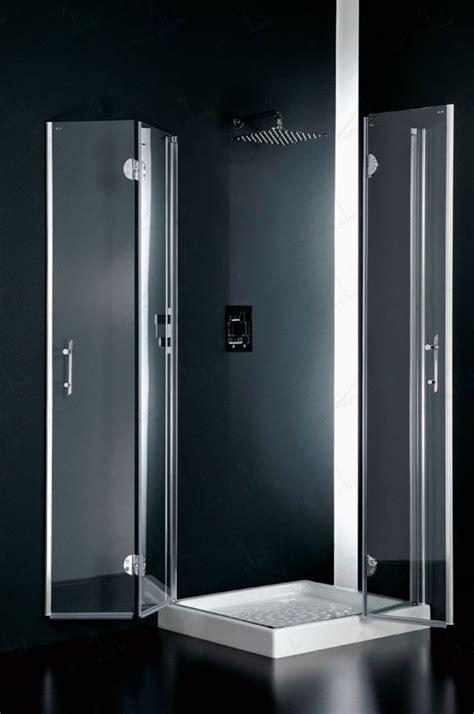 doccia facile facile box doccia due lati angolare cristallo trasparente