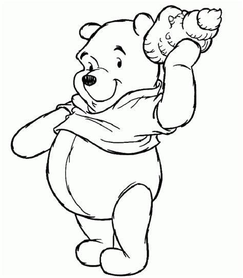 imagenes de winnie pooh sin pintar te cuento un cuento dibujos para colorear