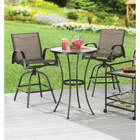 High Top Bistro Table Home Ideas High Top Patio Furniture Set