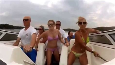 boat crash harlem shake seven people boat crash girls with bikini boat crash