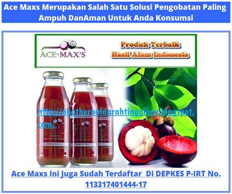 Ace Maxs Nya obat herbal darah tinggi