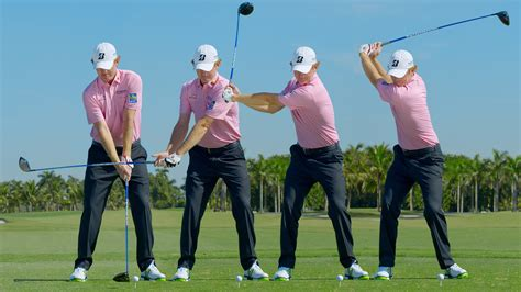 golf swing face on slow motion swing sequence brandt snedeker photos golf digest