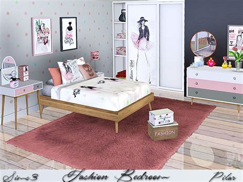 bedroom sims 3 pilar s fashion bedroom