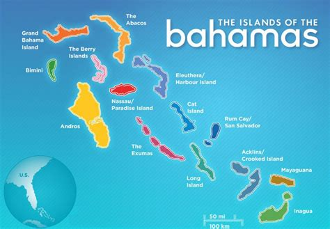 bahamas on map best beaches in the bahamas travel destinations