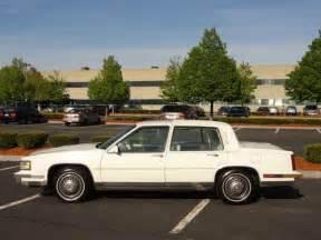 1987 Cadillac Fleetwood D Elegance Buy Used 1987 Cadillac Fleetwood D Elegance Sedan 4 Door 4