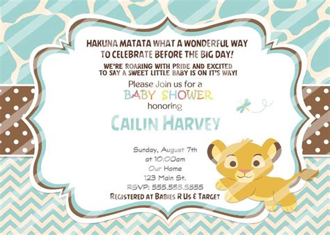 Simba Baby Shower by Best 25 Simba Baby Shower Ideas On King Baby