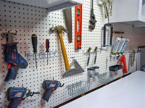 car garage organization ideas with diy wall mounted how to keep tools organized in the garage diy projects