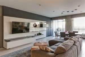 Farbe Grau Holz Moderne Wohnung Wohnung Einrichten In Grau Modernes Apartment Als