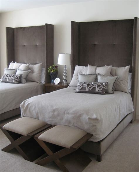 single bed headboard ideas bedroom ideas two single beds home delightful