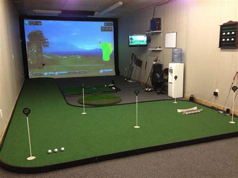 golf swing simulators simply the best indoor putting greens