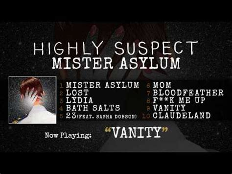 Vanities Lyrics by Vanity Highly Suspect And