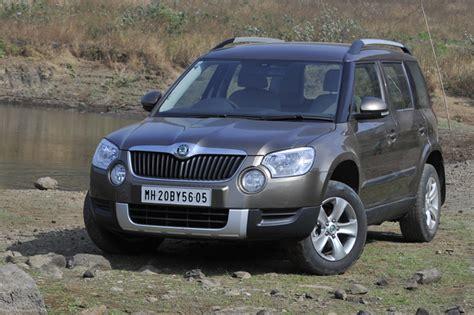 skoda yeti diesel review skoda yeti 4x2 review test drive autocar india