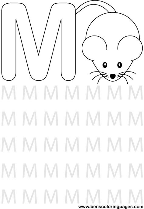 preschool coloring pages letter m letter m coloring pages 171 free coloring pages