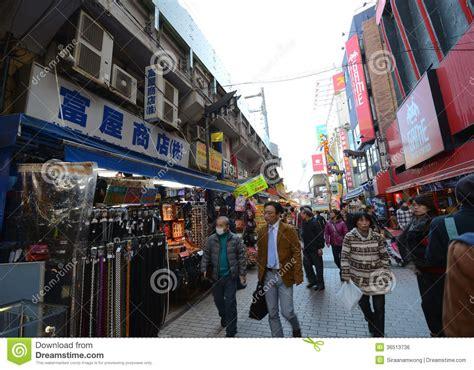 november tokyo tokyo japan november 22 ameyoko market in ueno