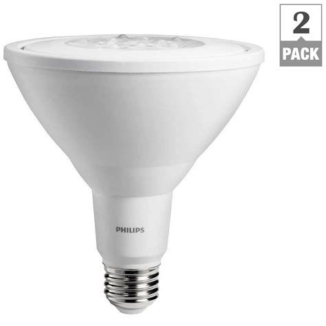 Par38 Led Light Bulbs Philips 65w Equivalent Daylight 5 6 In Retrofit Trim Recessed Downlight Dimmable Led Flood